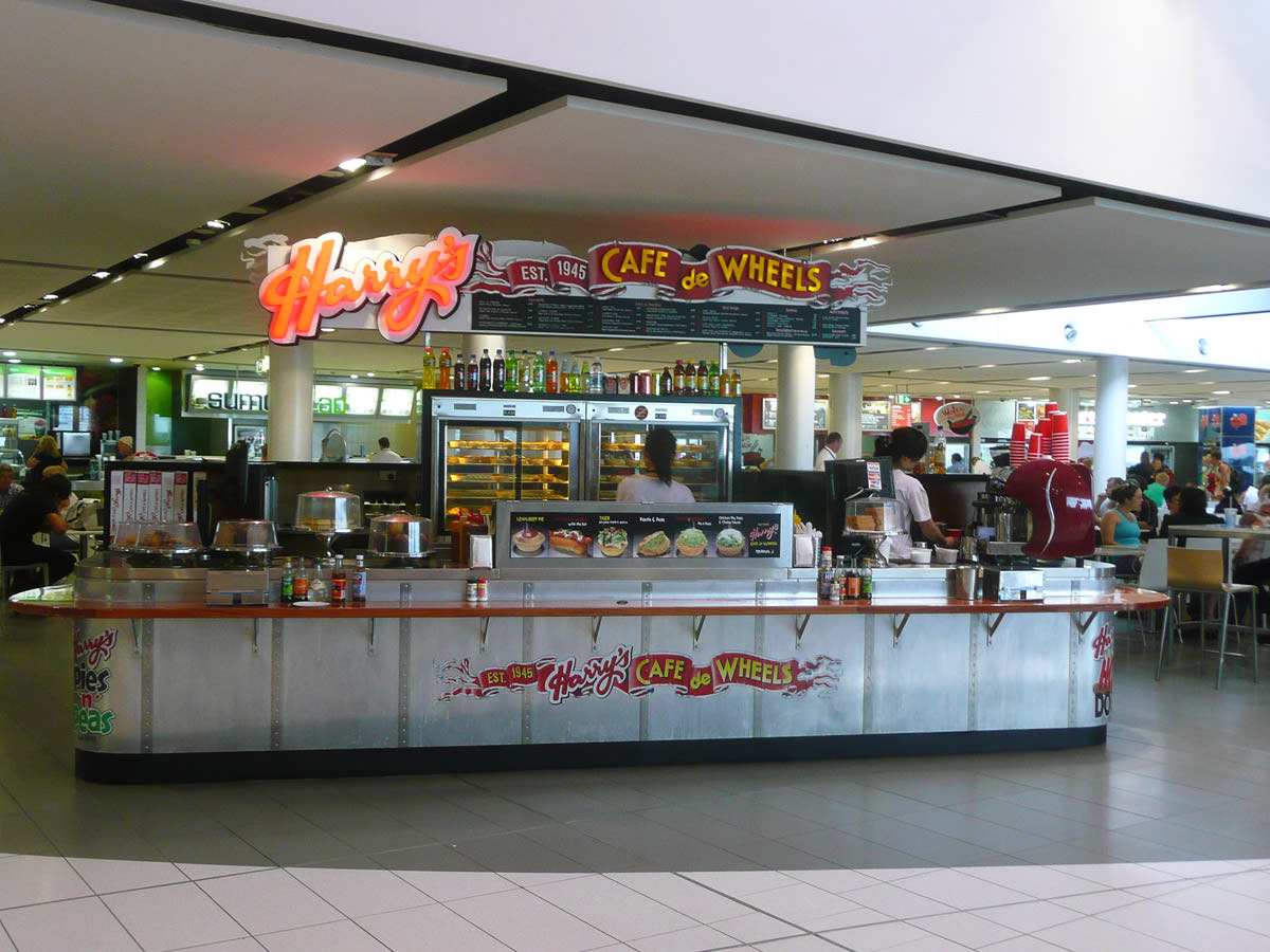 Harry's Cafe De Wheels at Sydney Airport, Terminal 2