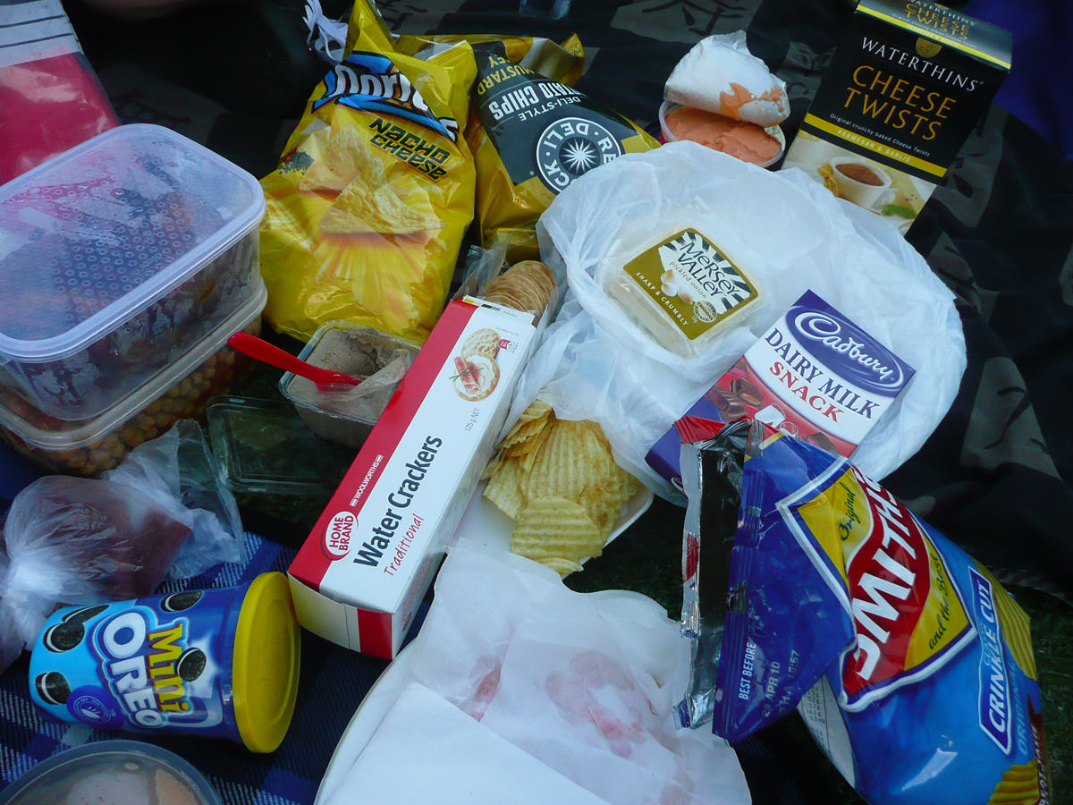 Messiest picnic ever