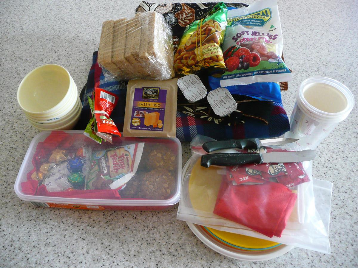Jac's picnic stuff