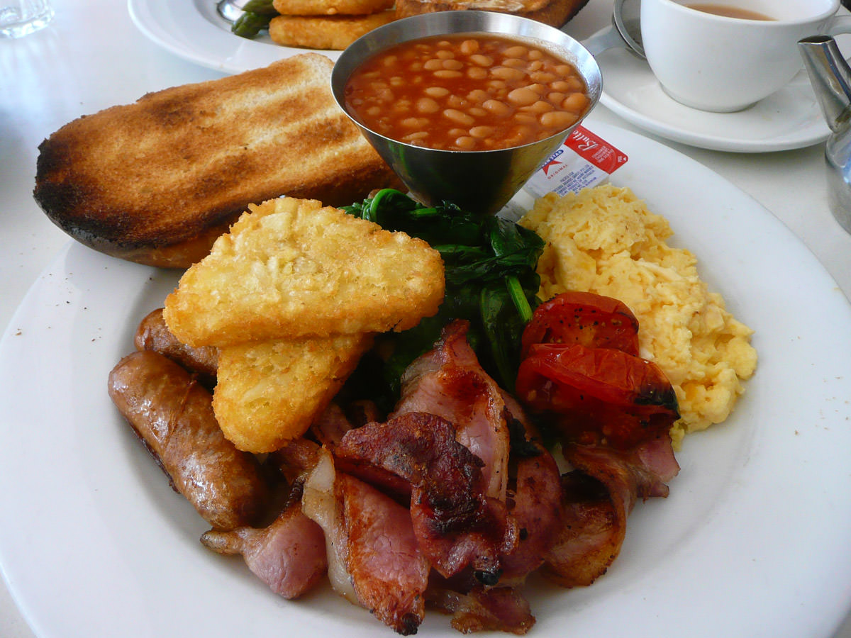 Pavarotti - full breakfast fry-up