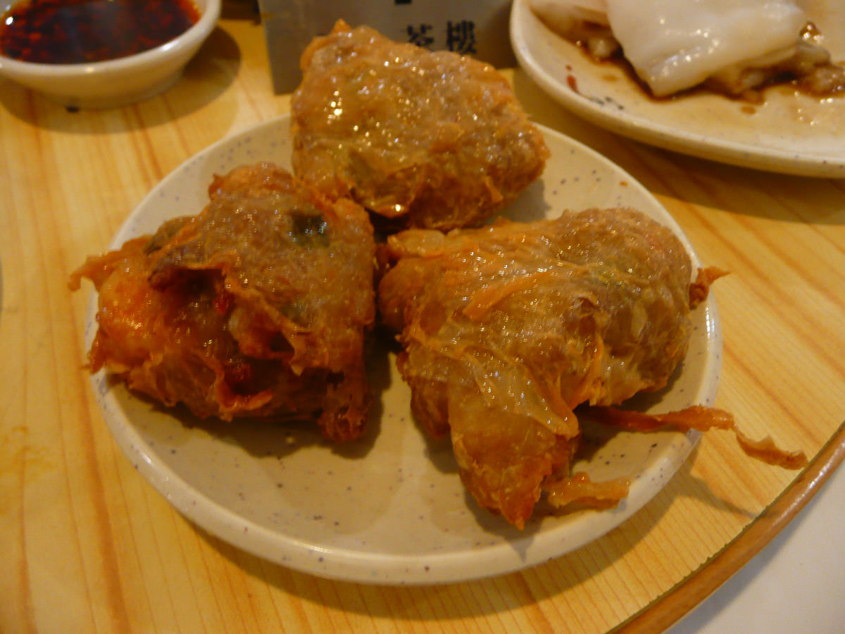 Deep fried crab meat ball