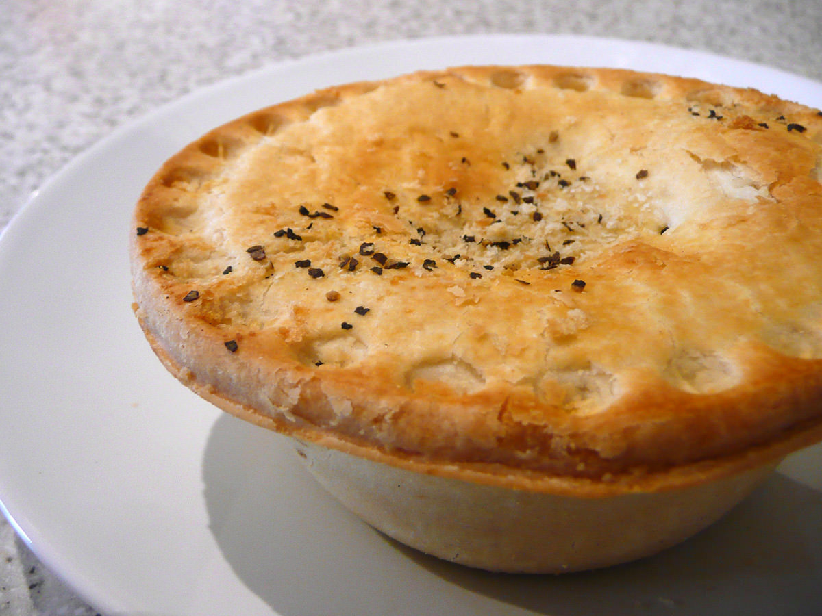 Mrs Mac's limited edition meat lovers pie