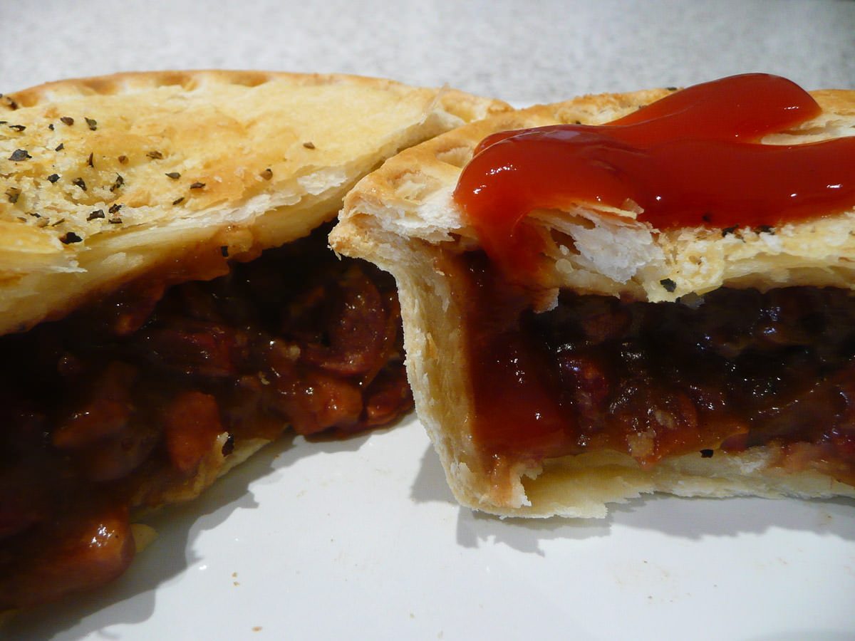 Mrs Mac's limited edition meat lovers pie innards