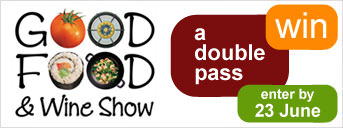 Win a double pass to the Good Food & Wine Show Perth
