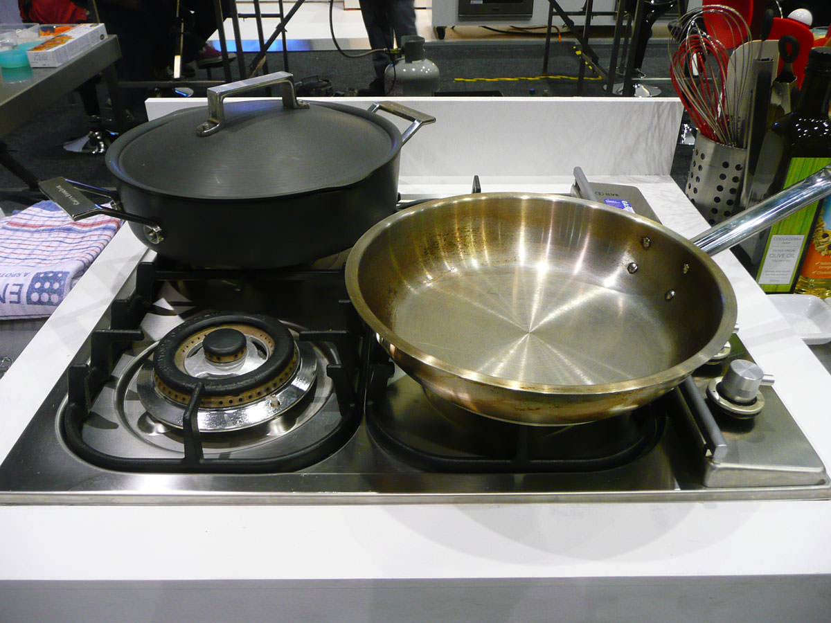Our stove and pans