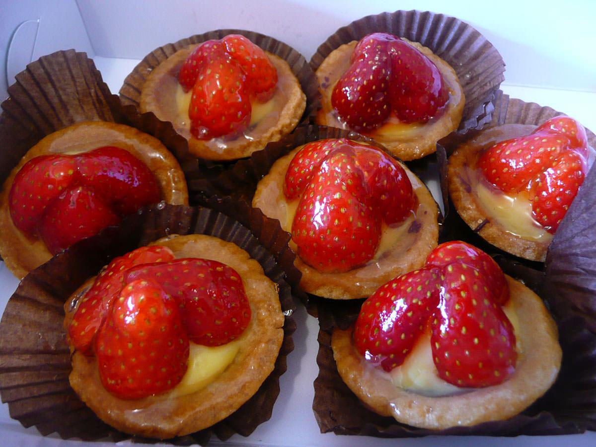 Strawberry tarts