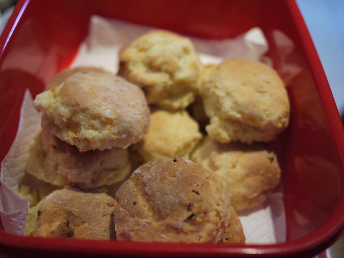 Cousin Carol's scones