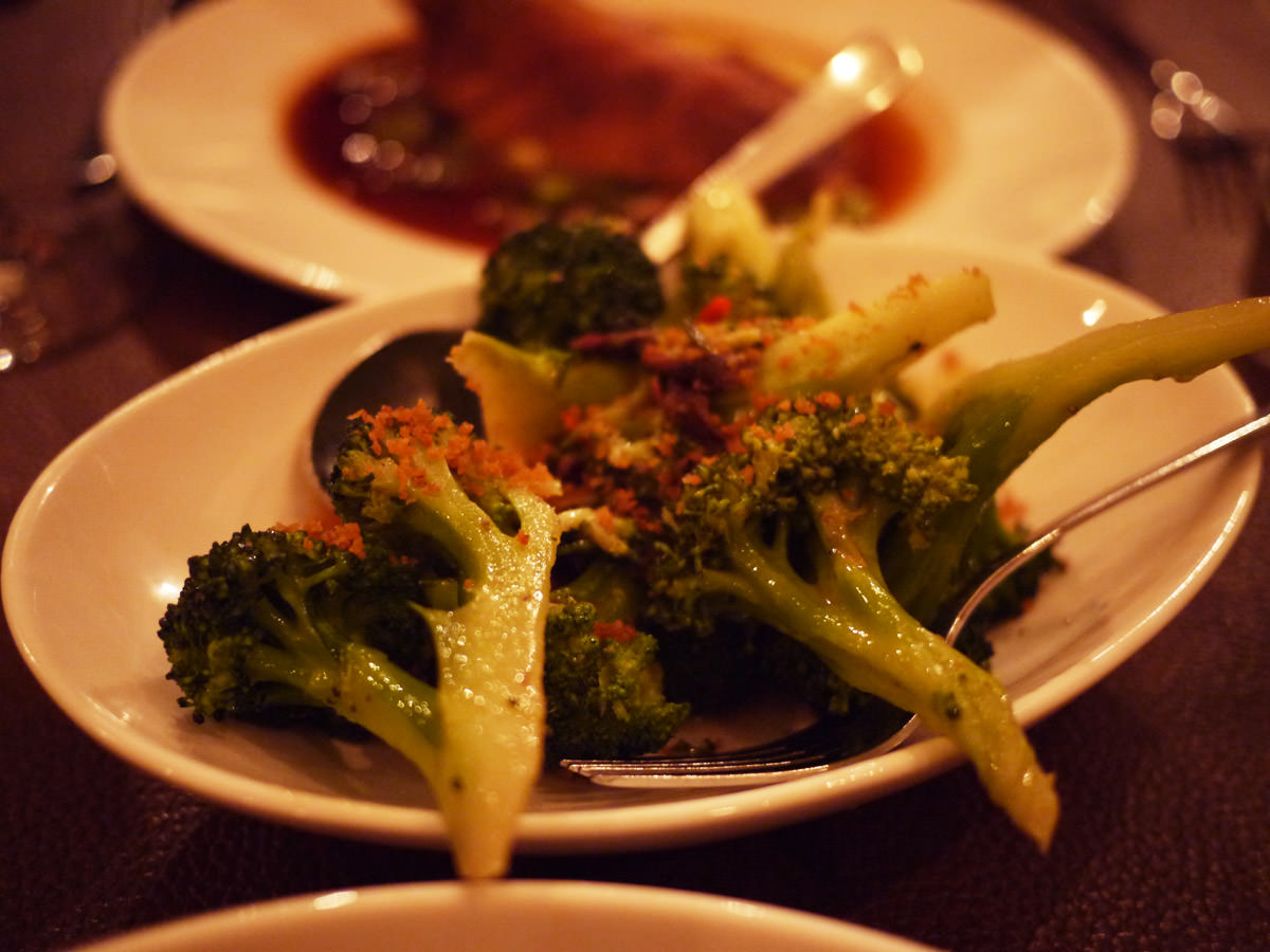 Broccoli, anchovy, garlic