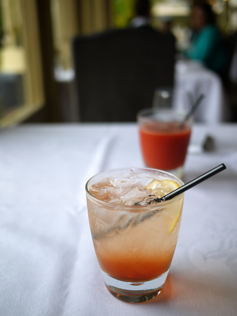 Lemon, lime and bitters and a tomato juice