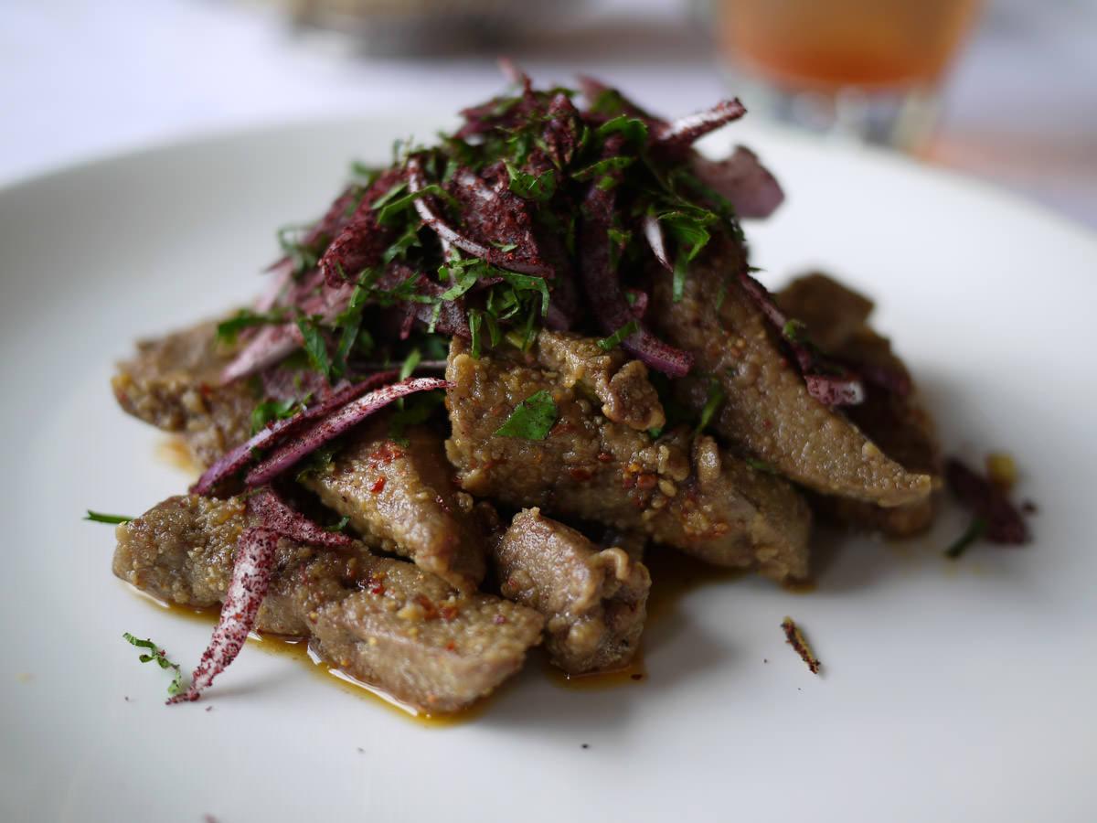 Ciger tava - lamb's liver