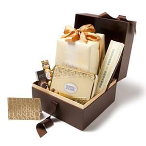 Ferrero Gourmet Christmas Hamper by Tobie Puttock