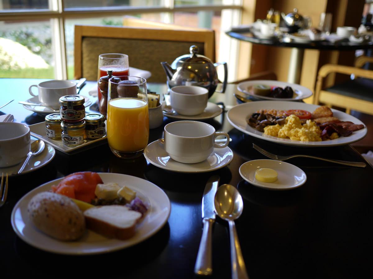 Buffet breakfast, Hyatt Hotel Canberra