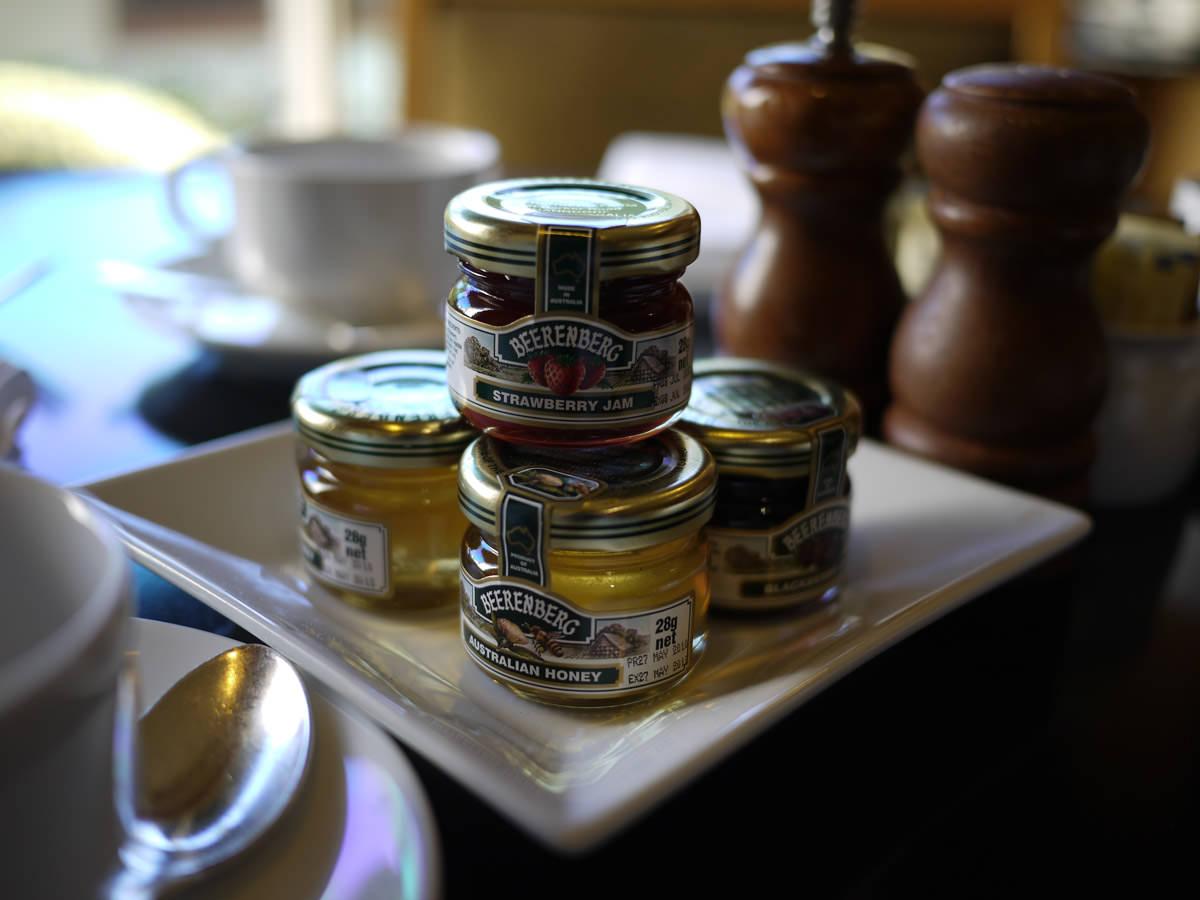 Beerenberg honey and jam