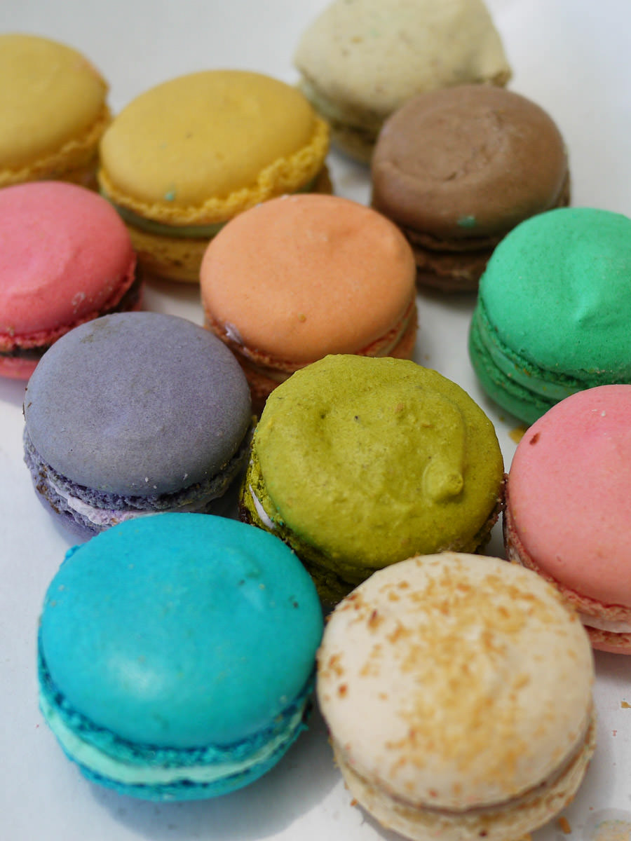 Macarons in a box, La Galette de France, Subiaco