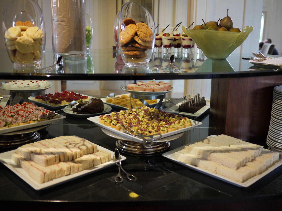 High tea at the Hyatt Hotel Canberra