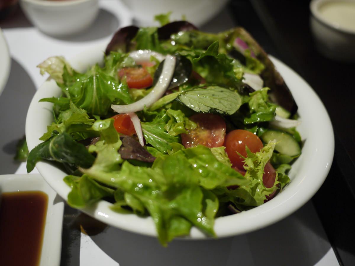 Seasonal mixed salad