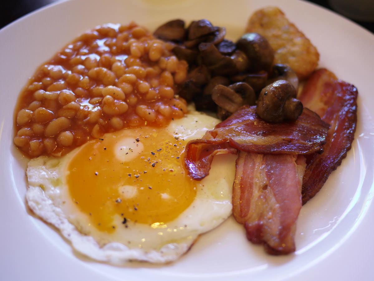 My buffet breakfast fry-up