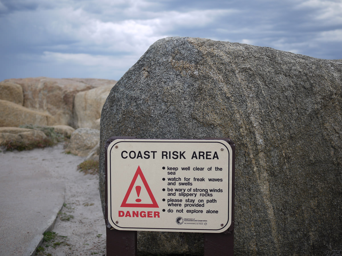 Coast risk area