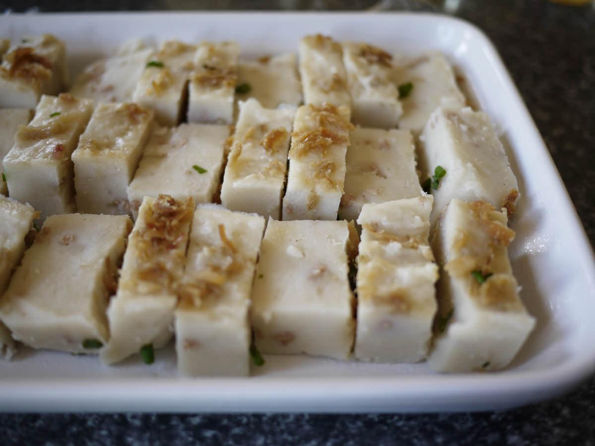Yam cake (woo tau ko)