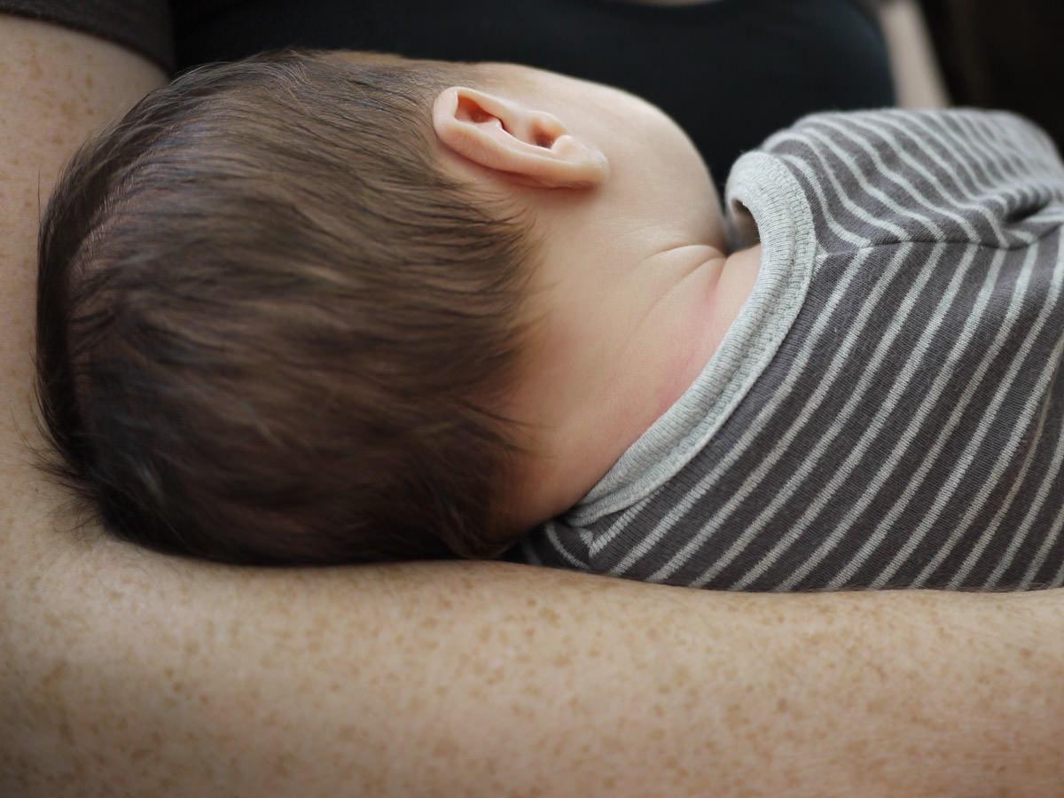 Caleb sleeps