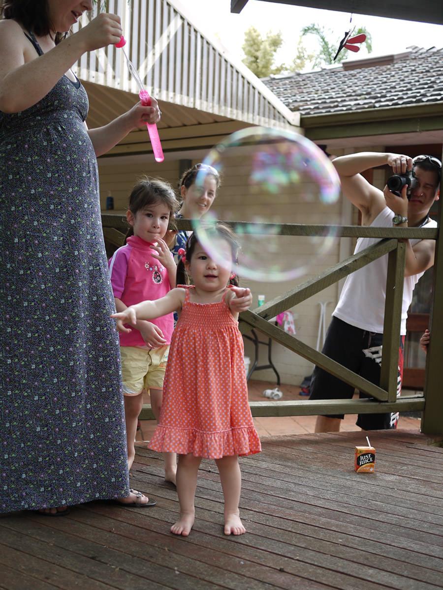 Chasing a bubble