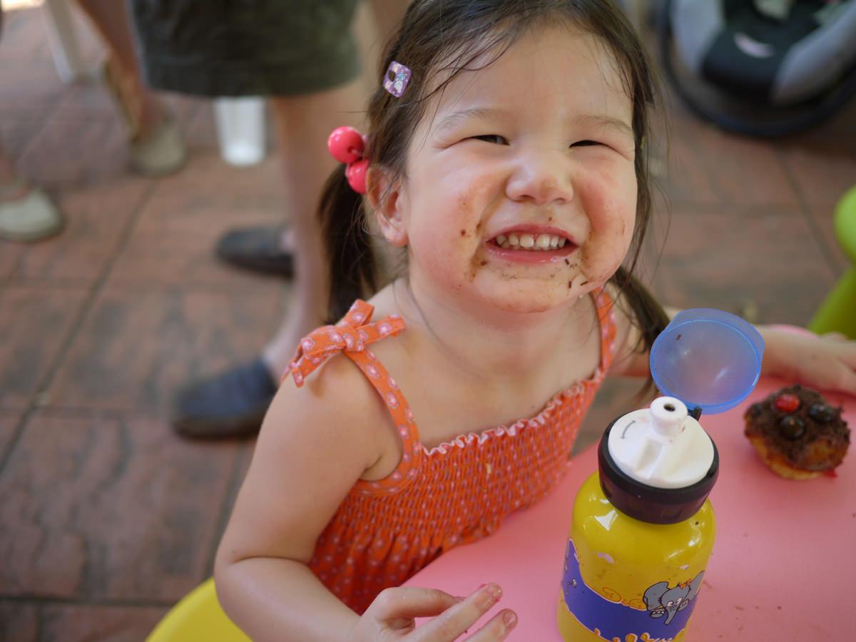 A happy birthday smile