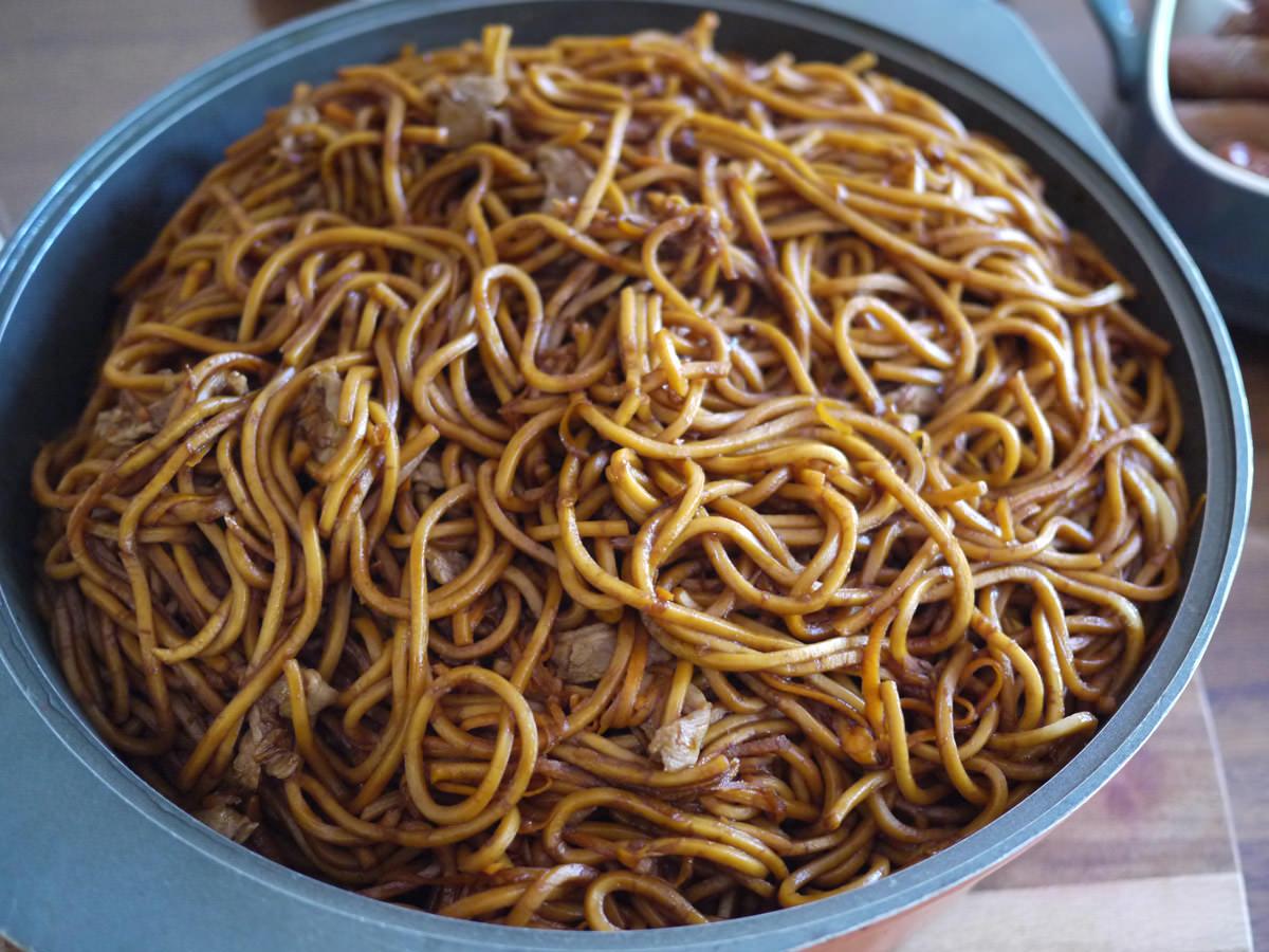 Mum's stir-fried noodles