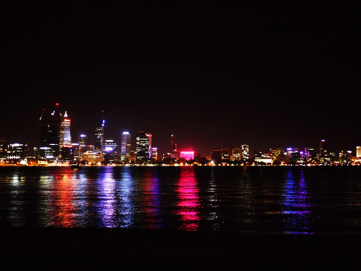 Perth (view from South Perth Esplanade)