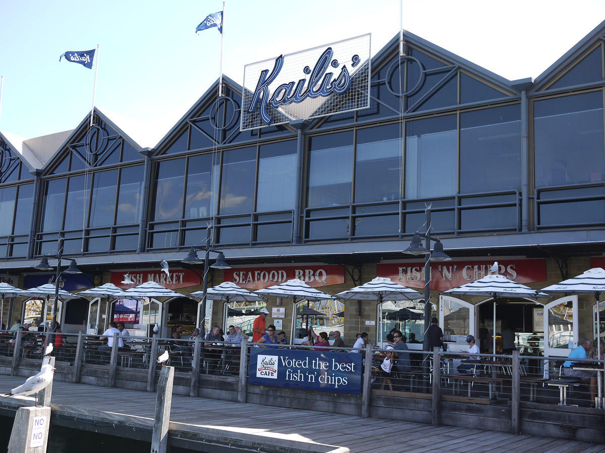 Kailis Fish Market Cafe, Fremantle