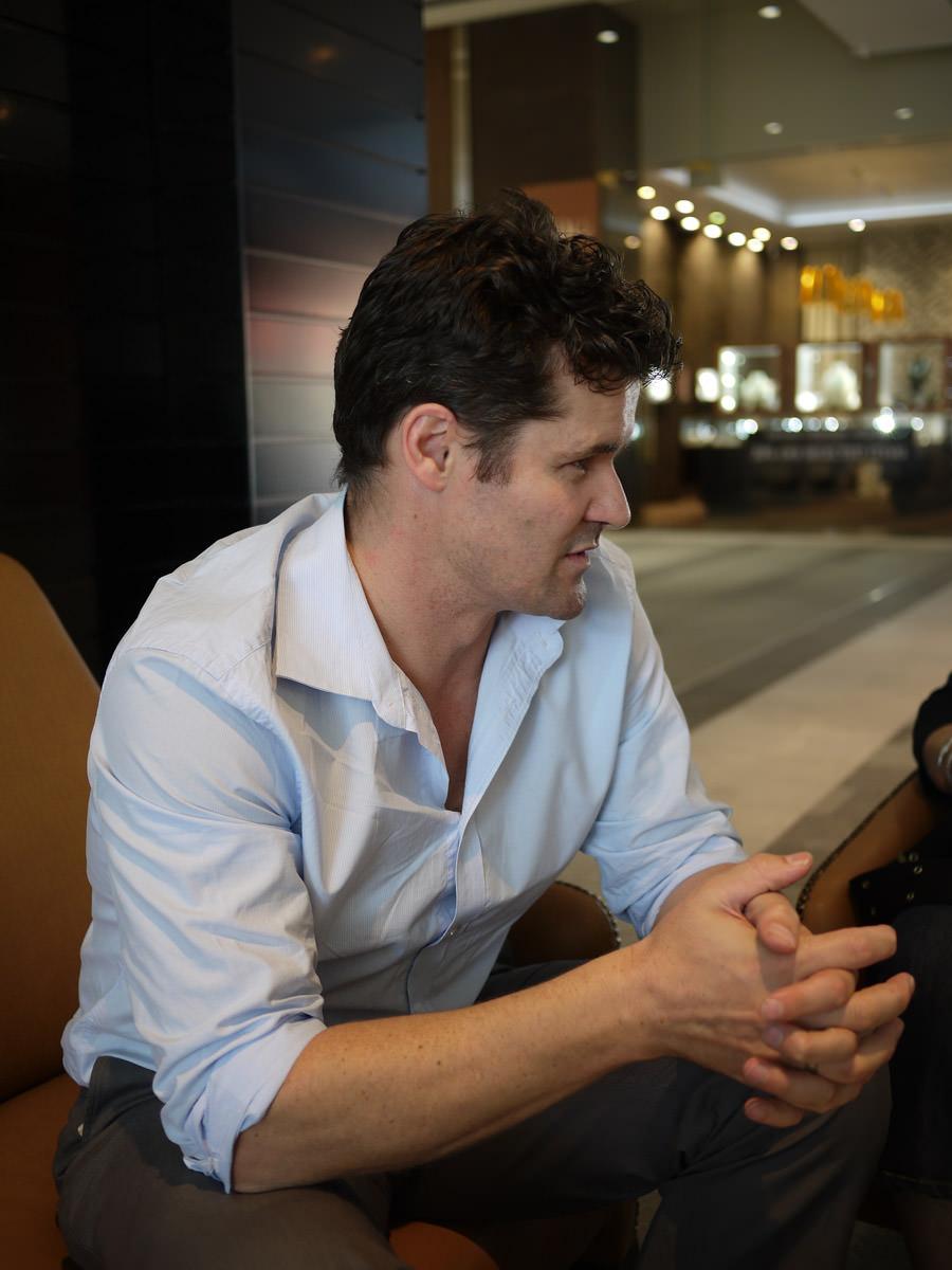 Koko Black founder Shane Hills