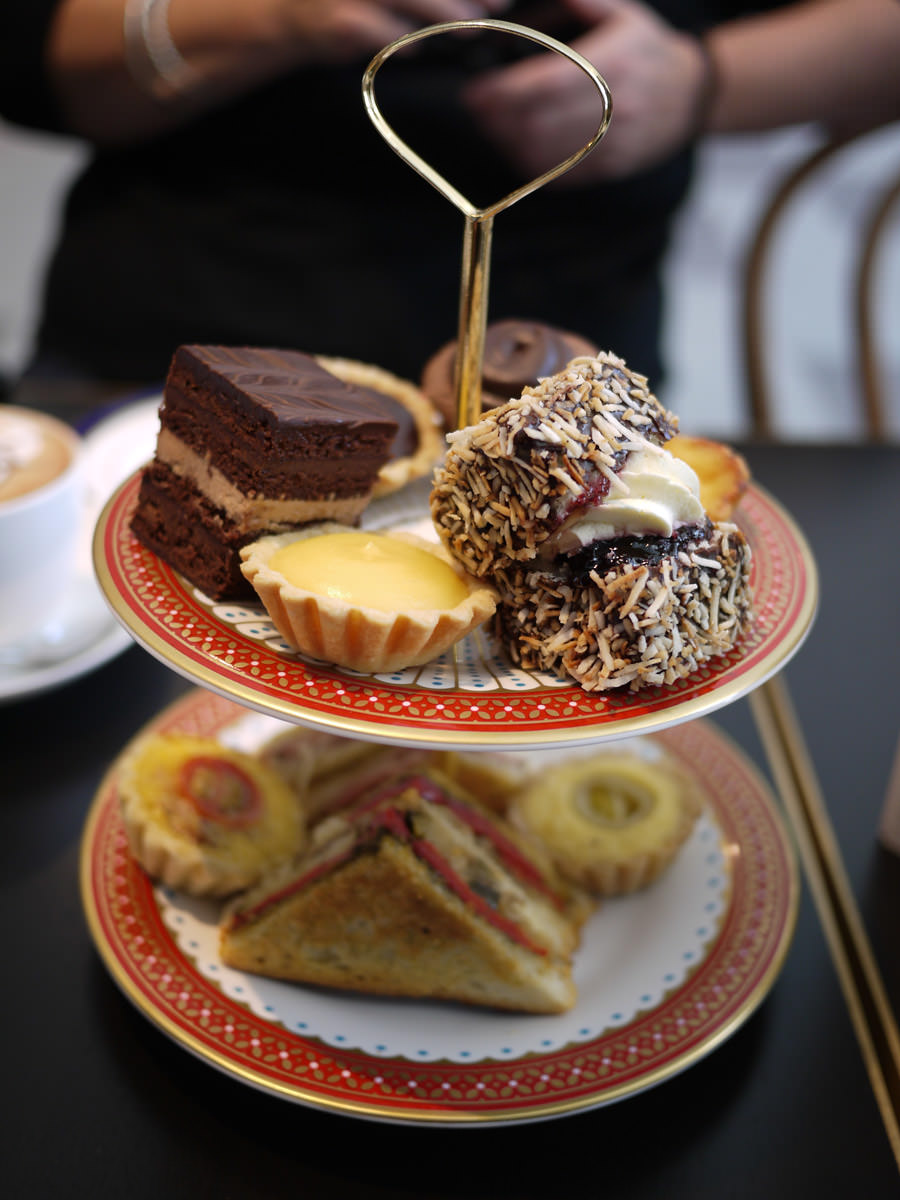 Queen of Hearts high tea