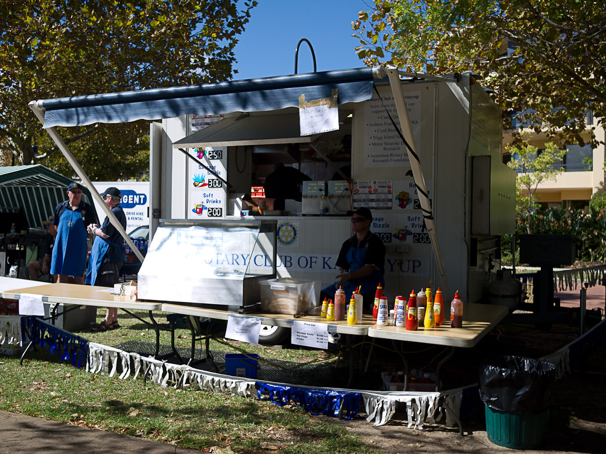 Rotary Club of Karrinyup food kiosk