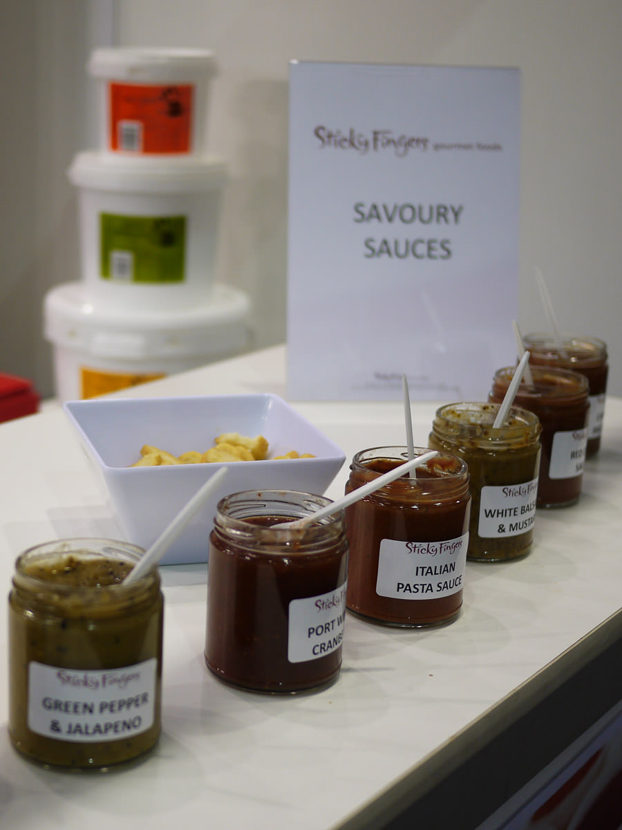 Sticky Fingers savoury sauces