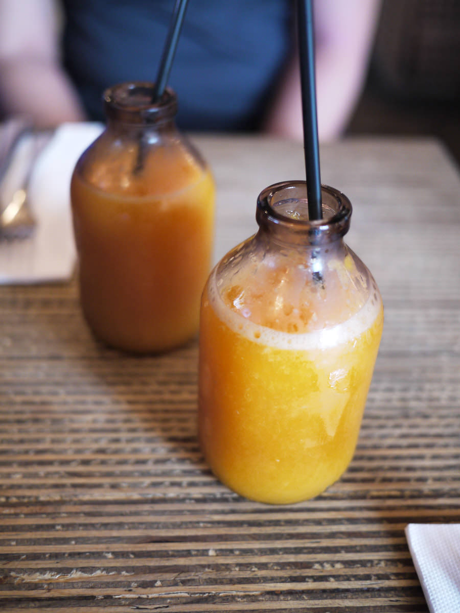 Pressed orange juice