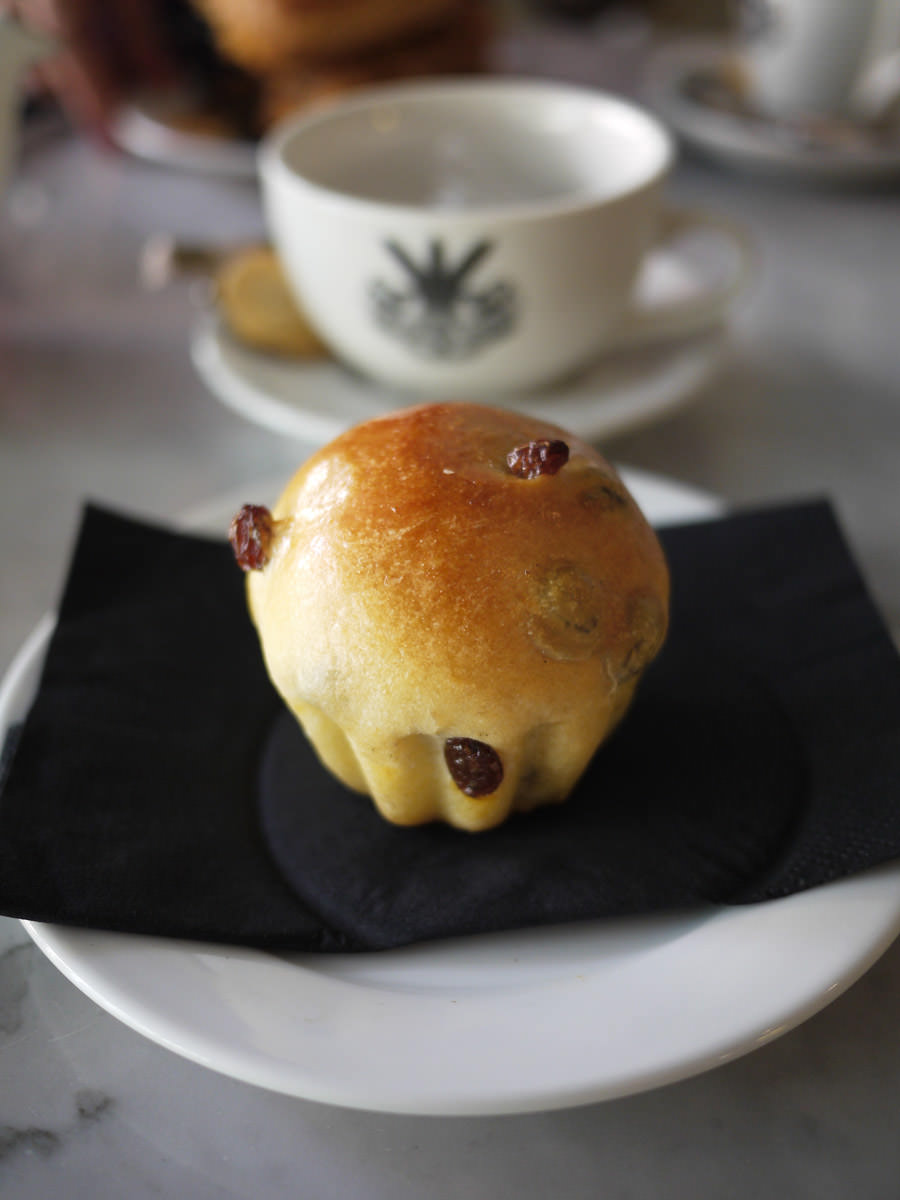Raisin brioche (AU$2.90)
