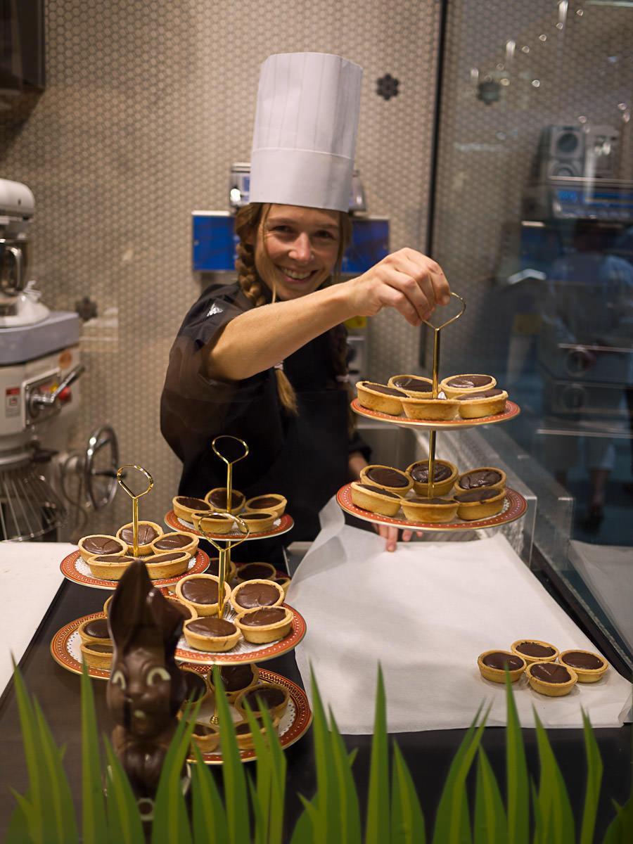 Kim Linssen, head chocolatier