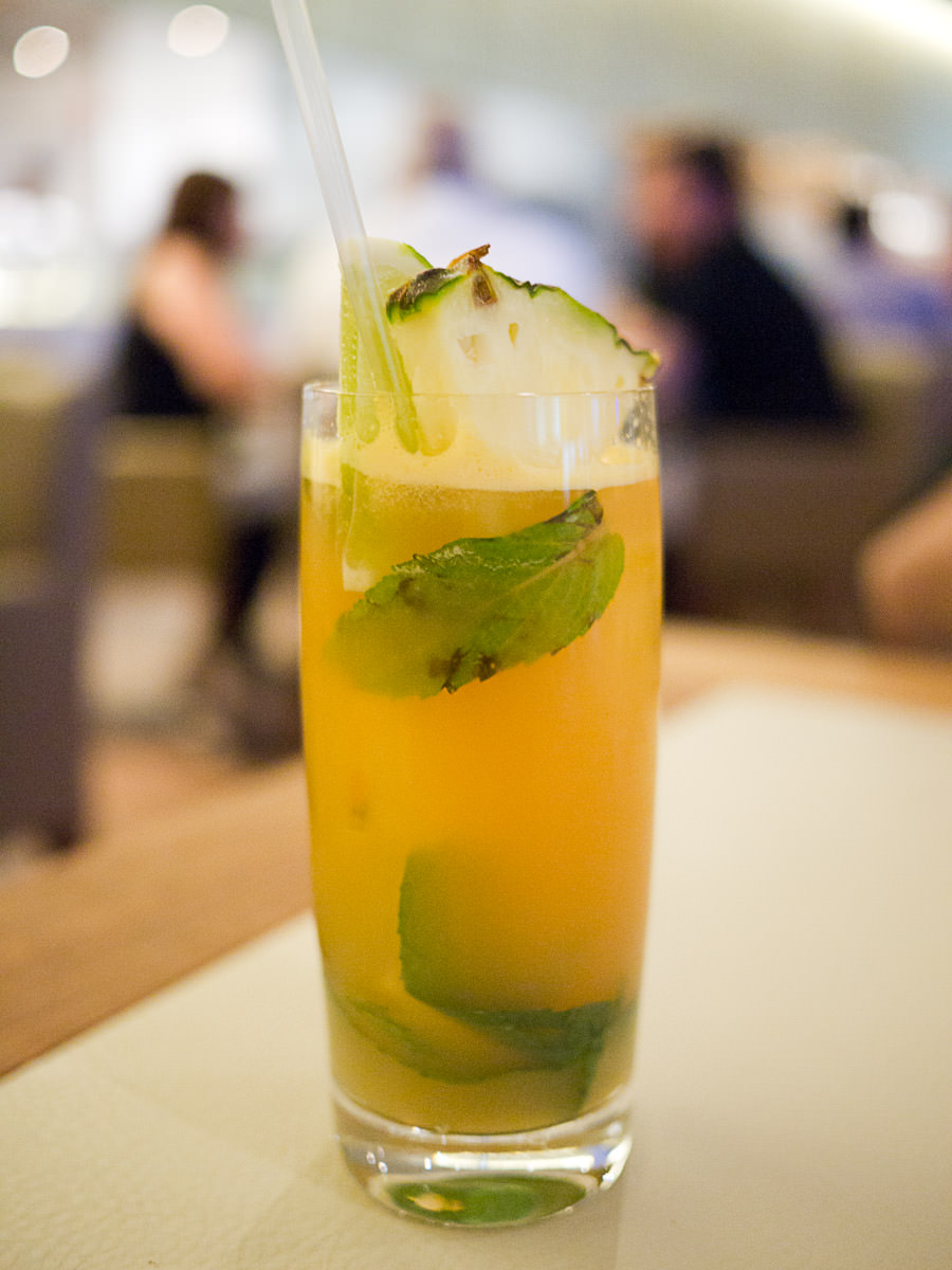 Pineapple & ginger soda (AU$9)