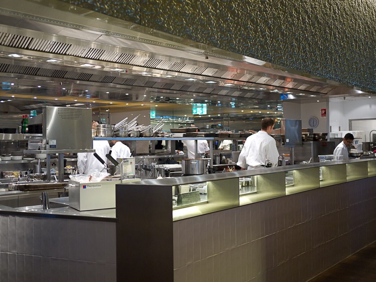 Rockpool Bar & Grill, Burswood - kitchen