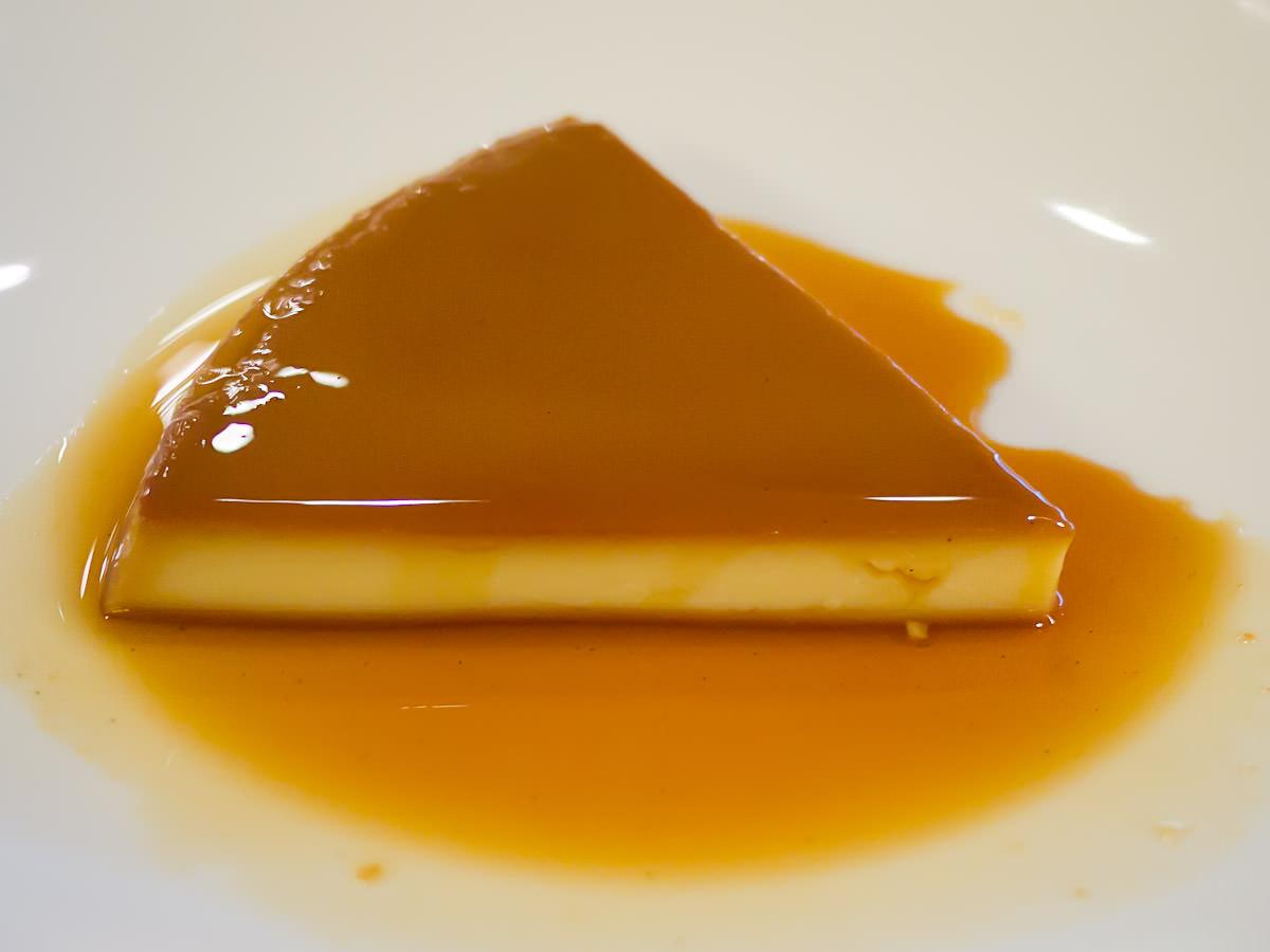 Creme caramel (AU$21)