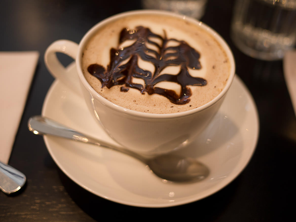 Soy hot chocolate