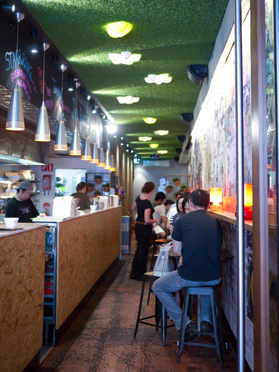 Jus Burgers interior