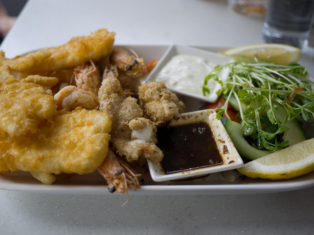 Seafood platter (shared between two)