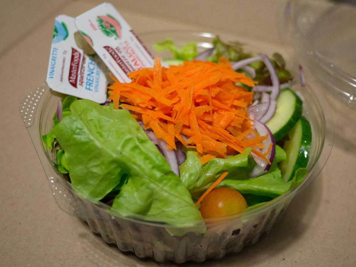 Garden salad (AU$6)