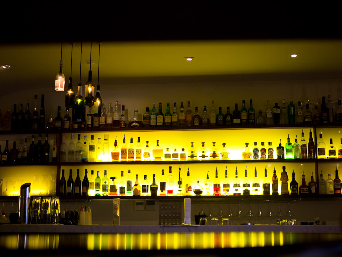 The bar at Must