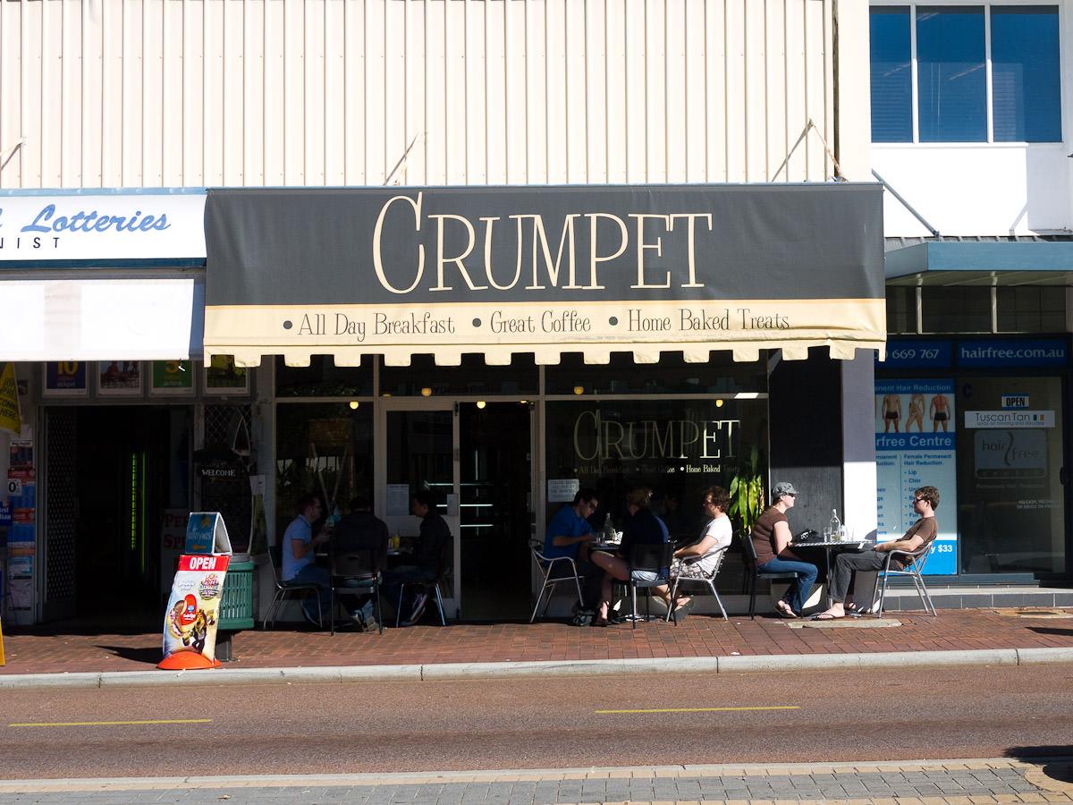 Crumpet - frontage
