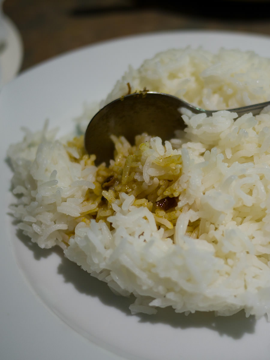 Rice and curry