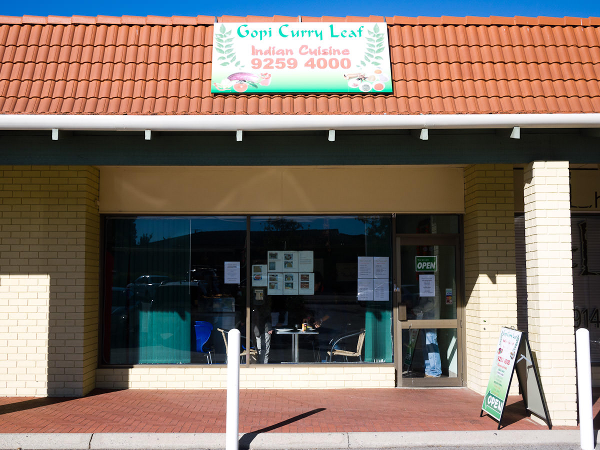 Gopi Curry Leaf, Willetton