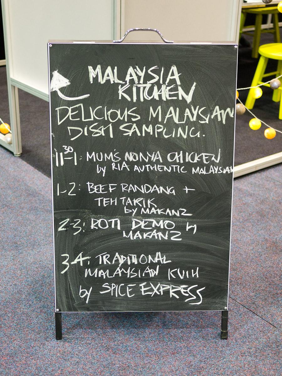 Malaysia Kitchen free tastings menu