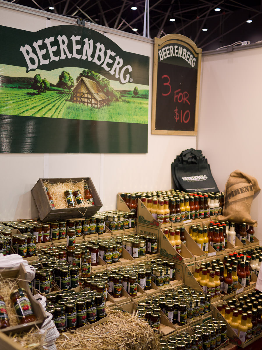 Beerenberg Farm stand
