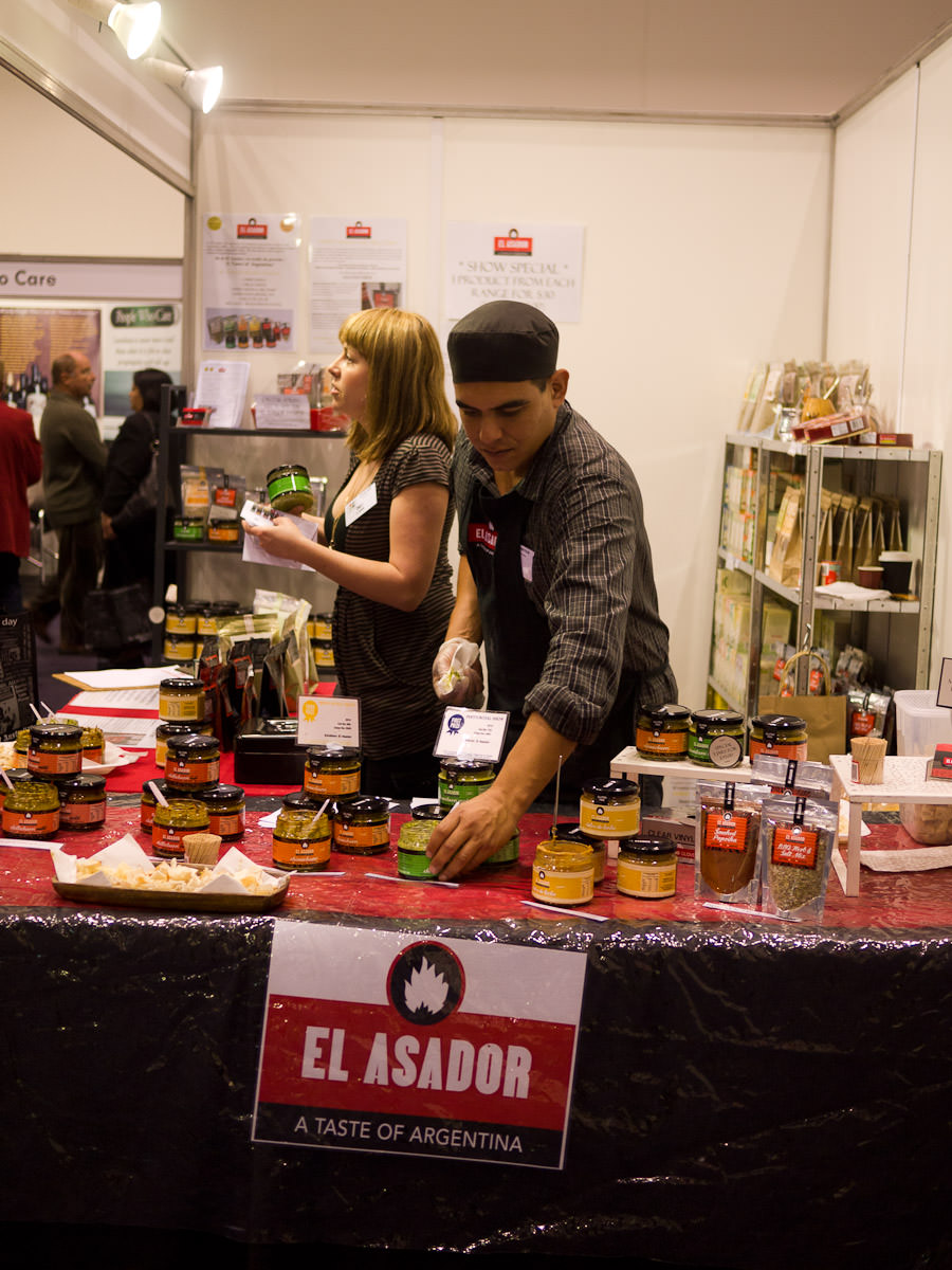 El Asador, Argentinian food